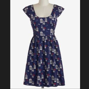 ModCloth's tulle aviary little things dress